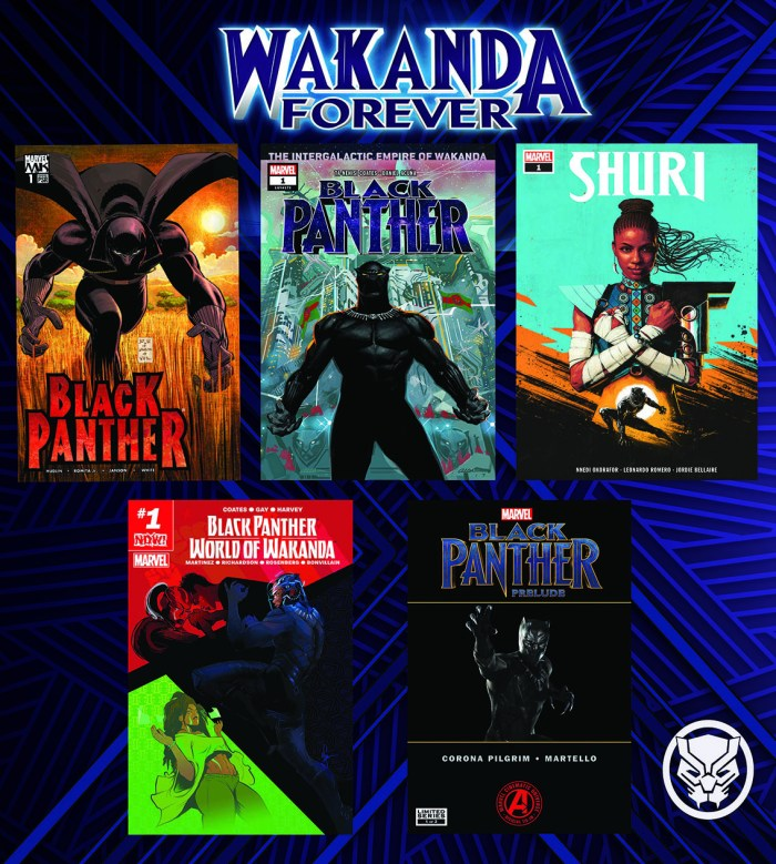 Wakanda Forever_Cover Collage