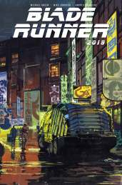 Blade Runner #1 Cover B - Syd Mead - Not Final Cover