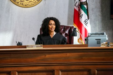 ALL RISE -- A drama that follows the dedicated, chaotic, hopeful, and sometimes absurd lives of judges, prosecutors, and public defenders as they work with bailiffs, clerks and cops to get justice for the people of Los Angeles amidst a flawed legal system. Premiering this fall (Monday, 9:00-10:00 PM, ET/PT) on the CBS Television Network. Pictured: Simone Missick as Lola Carmichael Photo: Michael Yarish/CBS ©2019 CBS Broadcasting, Inc. All Rights Reserved