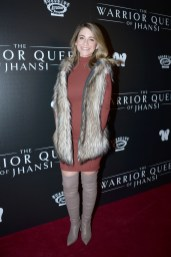 "NEW YORK, NY - NOVEMBER 13: Ashley Spivey attends The Wing Hosts The World Premiere Of Roadside Attractions' ""The Warrior Queen Of Jhansi"" at Metrograph on November 13, 2019 in New York. (Photo by Paul Bruinooge/PMC/PMC) *** Local Caption *** Ashley Spivey"