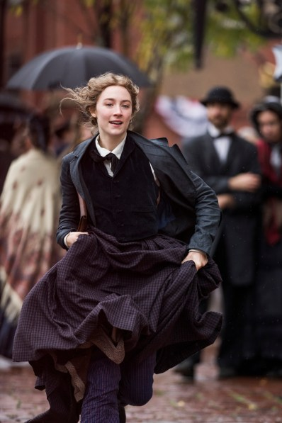 Saoirse Ronan in Greta Gerwig's LITTLE WOMEN.