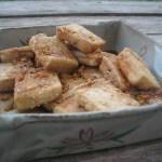 tofu with a sweet tamari sauce