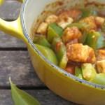 tofu capsicum subzi