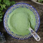 green herb tahini dressing