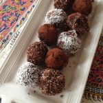 date chocolate balls (vegan)