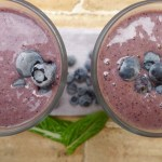 blueberry bliss banana smoothie