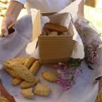 sesame lemon biscotti (vegan)