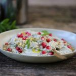 baba ghanoush (eggplant with tahini)