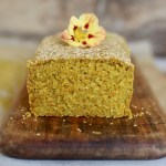 carrot-turmeric seeded rice bread (gluten-free)