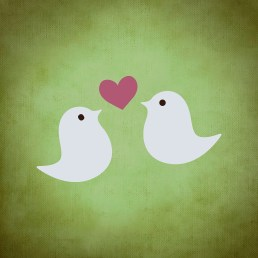 It's simple to feel like lovebirds when you completely disregard anything negative at all times.