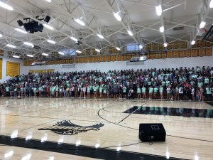 El Dorado High School's freshman orientation.