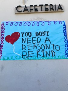 The Great Kindness Challenge at Valencia High School.