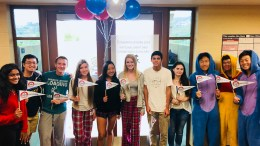 Yorba Linda High School's 2019 National Merit Semifinalists and Commended Students.