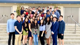 Valencia High School's 2019 National Merit Scholarship Program Semifinalists and Commended Scholars.