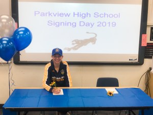 Parkview signing.