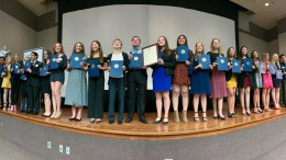 Mock trial awards 2020.