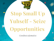 Stop Small Up Yuhself