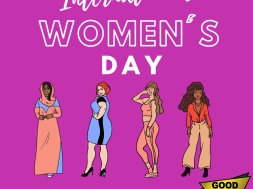 Colorful Illustration International Women's Day Instagram Post