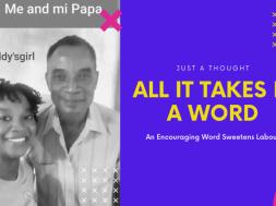Encouraging Words – YouTube Thumbnail