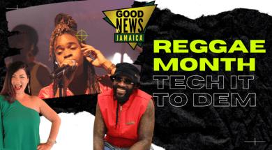 Reggae Month Tech YouTube Thumbnail