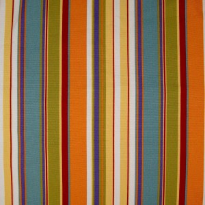 Poppy Stripe Futon Cover