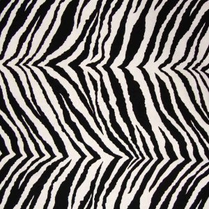 Zebra Futon Cover