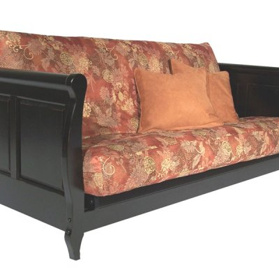 Adriana black sofa
