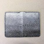 Salmon fishleather wallet