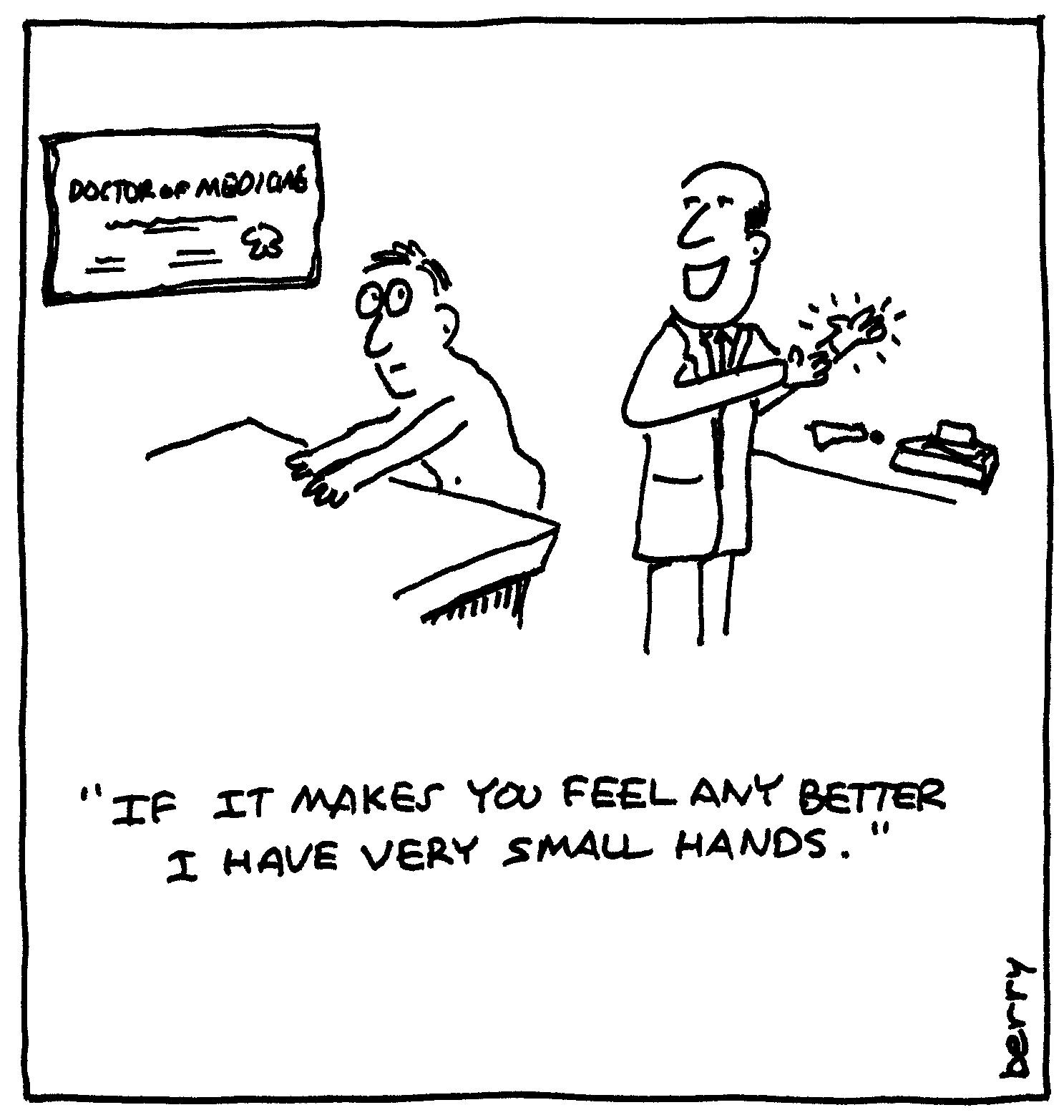 Prostate Exam Cartoon 2