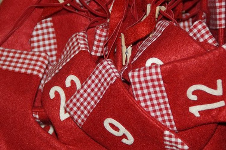 Christmas traditions, stocking advent calendars