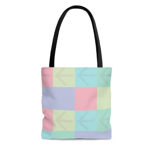 Pastel Points Tote Bag