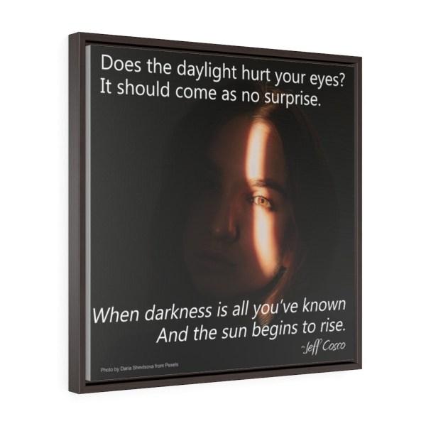 Daylight Square Framed