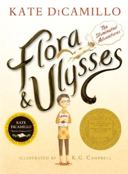 Flora & Ulysses by Kate DiCamillo with illustrations by K. G. Campbell