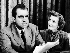 Nixon Giving Checkers Speech