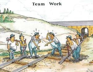 Poor Rhetoric makes for poor teamwork