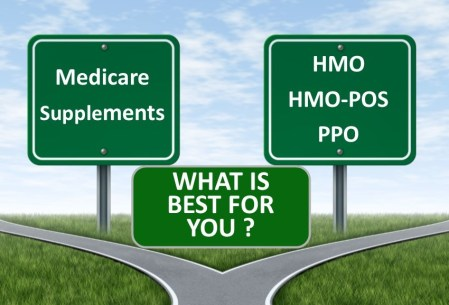 Part C Advantage plan, HMO, PPO