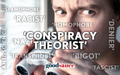 Everyone's a 'conspiracy theorist'
