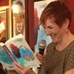 Katherine Dewar reading from Ruby and the Blue Sky UK launch July 2016