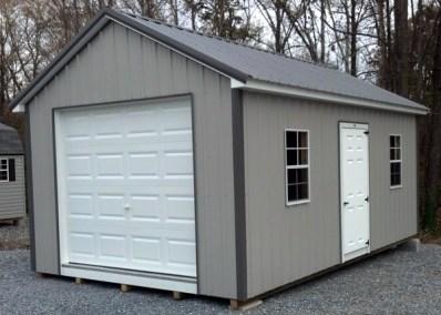 12x20 Metal Classic Garage SPEC