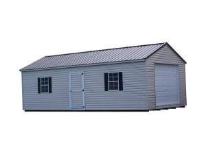 S14X28Vinyl A-Roof Garage
