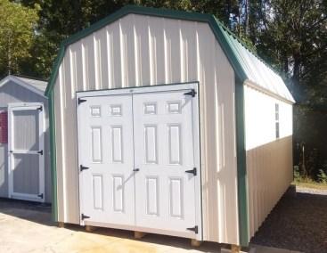 10x16 Metal High Barn (MO# 547)