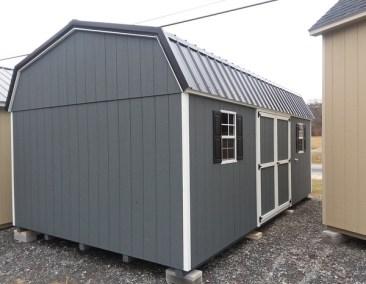 12x20 Painted High Barn (MO# 609)