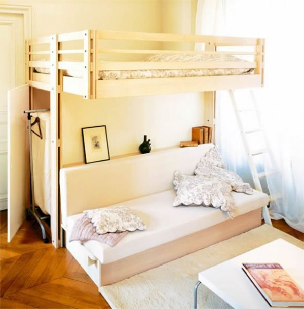 Space-Saving Ideas for Small Bedroom | Home Design, Garden ...