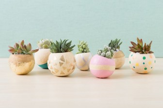 It doesn't have to be Easter in order to have fun blowing out and painting egg shells!