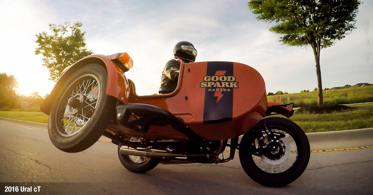Ural cT Motorcycle Sidecar Shop Bike