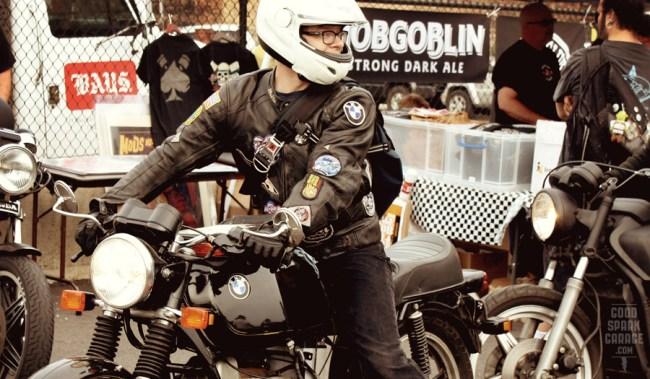 BMW bike at Ace