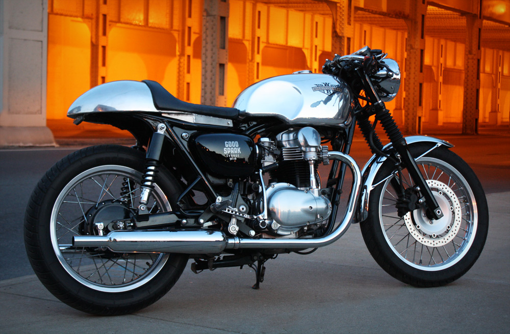 Wilkinson Bros W650 Cafe Racer Is