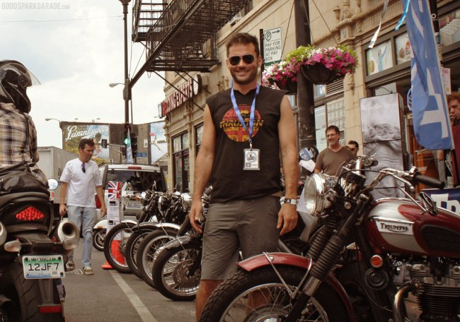 Johnny Moto at Mods vs Rockers Chicago 2012