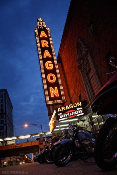 Aragon Ballroom Marquee