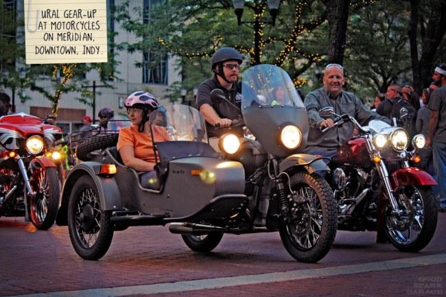 Ural Gear-Up in Indy